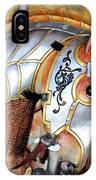 Silver Carousel Horse II IPhone Case