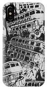Silver City IPhone Case