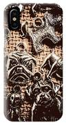Silver Dog Show IPhone Case