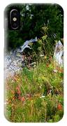 Silver Forest Meadow IPhone X Case