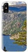 Silver Lake Pines IPhone Case