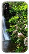 Silver Run Falls Mountain Laurel IPhone Case