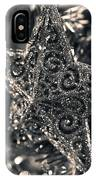 Silver Star IPhone Case