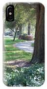 Simple Side Walk IPhone Case