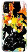 Simplistic Splatter IPhone Case