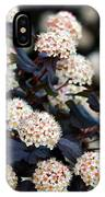 Summer Wine Ninebark Blossom IPhone Case