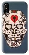 Sin Sugar Skull IPhone Case