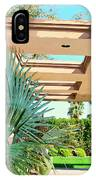 Sinatra Patio Palm Springs IPhone Case