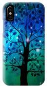 Singing In The Aurora Tree IPhone Case