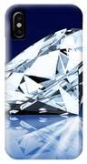 Single Blue Diamond IPhone Case