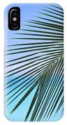 Single Palm Frond IPhone Case