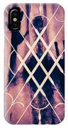 Sinister Figure Painted On A Curtain IPhone Case