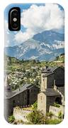 Sion Old Town In Switzerland IPhone Case