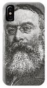 Sir Walter Besant, 1836 -1901. English IPhone Case