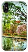 Sit And Ponder - Deep Cut Gardens IPhone Case