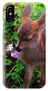 Sitka Black-tailed Fawn IPhone Case