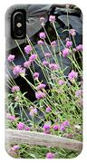 Sitting Amongst A Wildflower Garden IPhone Case