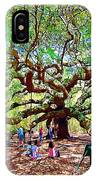 Sitting Under The Live Oaks IPhone Case
