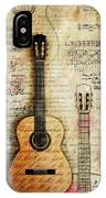 Six String Sages IPhone Case