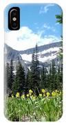 Siyeh Pass IPhone Case