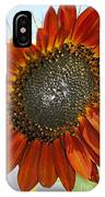 Sizzling Hot Sun Flower IPhone Case
