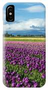Skagit Tulip Storm IPhone Case