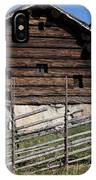 Skansen Cabin IPhone Case