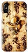 Skeleton Pendant Party IPhone Case