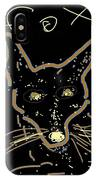 Sketch Of Fox By Kathy Barney IPhone Case