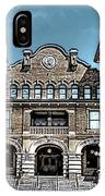 Sketch Of The Tt Wentworth Museum IPhone Case