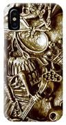 Skull And Cross Bone Treasure IPhone Case