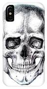 Skull Drawing IPhone Case