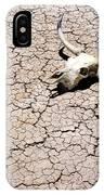 Skull In Desert 2 IPhone Case