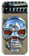 Skull License Plate IPhone Case