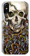 Skull N Thorns IPhone Case