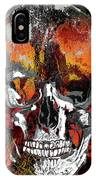 Skull Times Three Larger Size IPhone Case