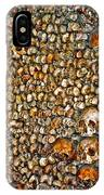 Skulls And Bones Under Paris IPhone Case