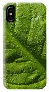 Skunk Cabbage Leaf IPhone Case