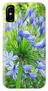 Sky Blue Flowers IPhone Case