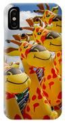 Sky Giraffes IPhone Case