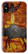 Sky People Taking Buffalo IPhone Case