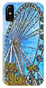 Sky Wheel-colorized IPhone Case