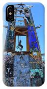 Slab City Museum Tower IPhone Case