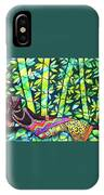 Sleep To Dream Silkpainting Belize IPhone Case
