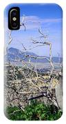 Sleeping Ute Mountain - From Mesa Verde National Park IPhone Case