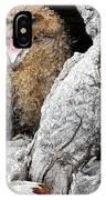 Sleepy Owlet IPhone Case