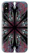 Slendermandala 2 IPhone Case