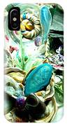Sliced Agate Coral To No Maintenance Aquariumn IPhone Case