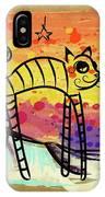 Slinky Cat IPhone Case