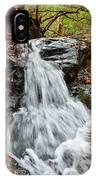 Slippery Rock Falls Fdr State Park Ga IPhone Case